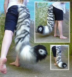 Fancy Tiger tail by LilleahWest on DeviantArt