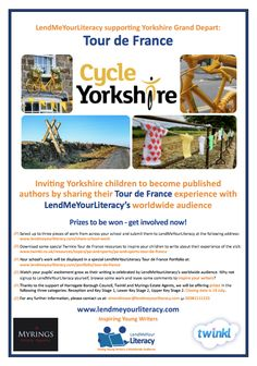Tour de France: LMYL supporting Yorkshire Grand Depart!   http://lendmeyourliteracy.com/tour-de-france-lmyl-supporting-yorkshire-grand-depart/
