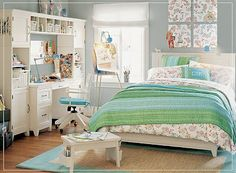 Five Stunning Teen Bedroom Design Ideas for Girl | All about Home Design
