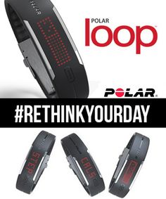 Rethink Your Day with the Polar Loop Fitness Tracker - pinneri Workout Guide, Workout Gear, Workout Exercises, Running Workouts, Fun Workouts, Running Gear, Training Motivation, Fitness Motivation, Fitness Gadgets