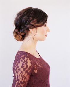 Wedding Hairstyles for Medium Hair Tutorial #hairstlyes