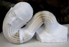 Esculturas de papel, realmente sorprendente.