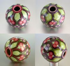 Berry bead 1 by ST-Art-Clay, via Flickr