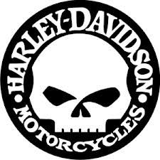 harley davidson logo clip art harley davidson logos firmenlogos rh pinterest com harley davidson skull logo stencil harley davidson skull logo history