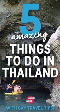 5 Amazing things to do in Thailand - from sea kayaking to Bangkok nightlife