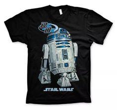 Star Wars R2D2 T-Shirt (Black) | Nerdeportalen