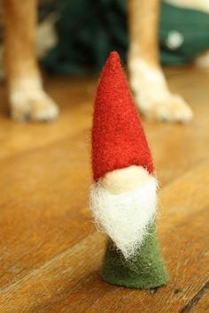 standing woolly gnome by byhandathome, via Flickr
