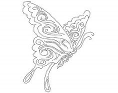 Tribal Vlinder