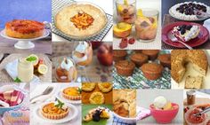 Eat a Peach:  Over 60 Juicy Gluten-Free Peach Dessert Recipes! via All Gluten-Free Desserts