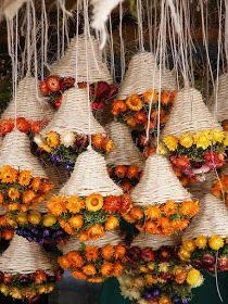 dried flowers by monikarucka Diwali Decorations, Flower Decorations, Wedding Decorations, Deco Floral, Arte Floral, Dried Flower Arrangements, Dried Flowers, Flower Crafts, Flower Art