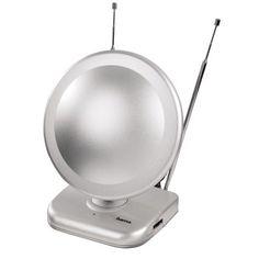 Oda İçi Anten DVB-T 45dB Gümüş