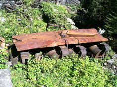 Iron mining equipment in Tahawus NY