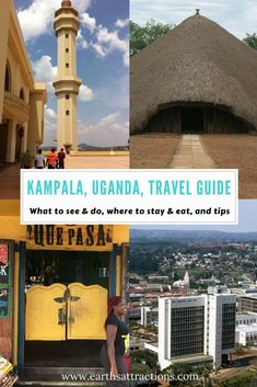 A local's travel guide to #Kampala, #Uganda - this #travelguide includes the top attractions, restaurants and ho(s)tels recommendations, and tips from someone who lives there since 2004!