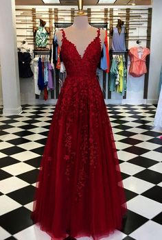 2020 Lace Prom Evening Dresses,V-neck Cute Long Homecoming Dresses,. - - 2020 Lace Prom Evening Dresses,V-neck Cute Long Homecoming Dresses,Junior's Party · LaviDress · Online Store Powered by Storenvy Source by ldecksdinpdz Homecoming Dresses Long, Cute Prom Dresses, Prom Outfits, Ball Gowns Prom, Dresses For Teens, Dance Dresses, Elegant Dresses, Sexy Dresses, Wedding Dresses