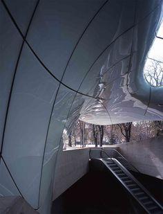 Nordpark Cable Railway by Zaha Hadid Architects - Dezeen