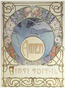 Le Pater, Mucha's occult interpretation of the Lord's Prayer  Pages 21-23