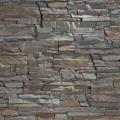 Eldorado Stone - Stacked Stone - I am so going to try this on the front of my fireplace.