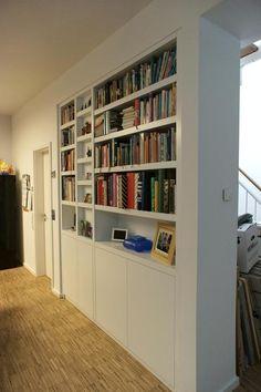 Wohnzimmer Bücherregal