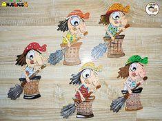 anjelicek / Magnetka - Ježibaba Snoopy, Fictional Characters, Art, Kunst, Fantasy Characters, Art Education, Artworks