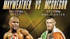 Alistan pelea entre Mayweather y  McGregor