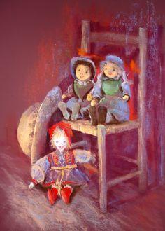 Pastels, Drawings, Painting, Pintura, Childhood, Board, Artist, Draw, Painting Art
