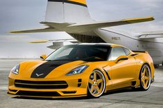 2014 Corvette Stingray Render