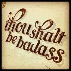 Happy Friday Friends, let's kick it into high gear!!!! #badass #TGIF