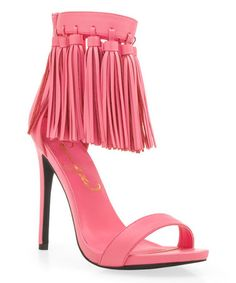 740da94855f5 Another great find on  zulily! Pink Eila Sandal  zulilyfinds Nude Shoes
