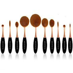 Search: make up brush set   LightInTheBox Professionelles Make Up, Cool Things To Make, Things To Sell, Makeup Brush Dupes, Makeup Brush Set, Makeup Tips, Eye Makeup, Hair Color, Beauty