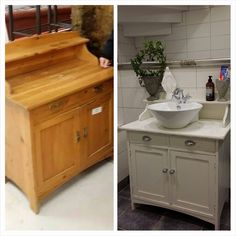 Badrum Vanity Skåp - Lilly is Love Bathroom Inspo, Bathroom Inspiration, New Room, New Homes, Vanity, Interior And Exterior, Design, Home Decor, Master Bath