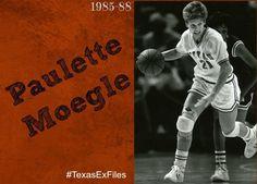 Way Back Wednesday high fives Paulette Moegle. #HornsUp #RIP