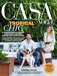 Meu projeto na Capa da Casa Vogue Brasil, Outubro. Já nas Bancas.