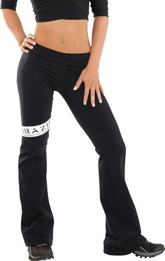Exercise Clothes from Bia Brazil Logo Leg Pant
