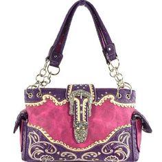 Buckle Collection Western Handbag