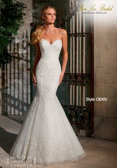 Style OENV  ELEGANT ALENCON LACE ON NET WITH WIDE HEMLINE- AVAILABLE IN THREE LENGTHS: 55 INCHES, 58 INCHES, 61 INCHES  Available in White, Ivory Precio: $4.111.250 Pesos Colombianos  Precio : $ 1.868.00 Dólares Americanos
