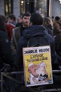 Hommage à Charlie Hebdo 07/01/ 2015