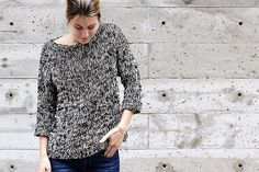 Ravelry: Dockside Sweater pattern by Alexandra Tavel