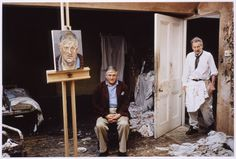 Lucian Freud / David Hockney