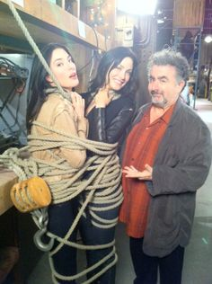 Warehouse 13; always playing with the artifacts... Tsk tsk
