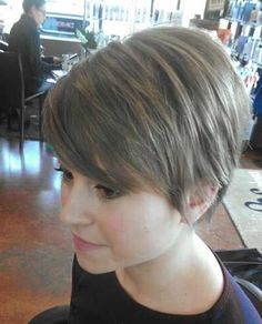 Long Pixie Cuts More
