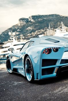 Beautiful Light Blue Mazzanti Evantra
