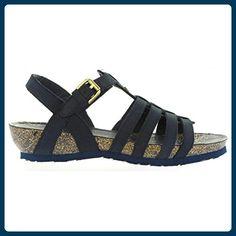 Sandalen für Damen PANAMA JACK DUNA BASICS B2 NOBUCK MARINO Schuhgröße 36 - Sandalen für frauen (*Partner-Link)