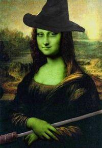 Mona Lisa witch .... LOL