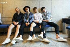 Bangtan Boys_BTS  Rap Monster, Suga, Jimin & V