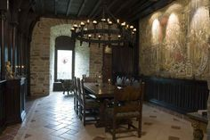 castle france medieval french restored castles 12th century interior houses homes interiors