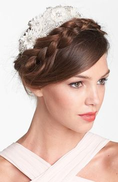 UNTAMED+PETALS+BY+AMANDA+JUDGE+Floral+Beaded+Head+Wrap+available+at+#Nordstrom