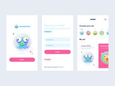Little Monster designed by 小渔 for Panda Plus. Connect with them on Dribbble; Pet Monsters, Little Monsters, Matt Anderson, Monster Design, Silver Spring, App Ui, Show And Tell, Happy Life, Your Pet