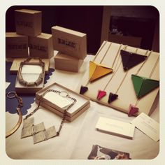 beautiful geometric jewellery