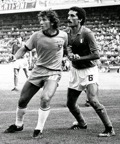 ZICO, marcado por Gentile, Mundial España ' 82