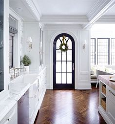 Just beginning our renovations, the design decisions and the nitty gritty choices of where to put every outlet in our house or what windows to buy are starting to creep in. I've been a long time fan of full wall black iron doors and windows and have noticed the trends picking up in Atlanta hom